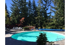 Whistler pool area