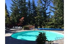 Whistler pool area
