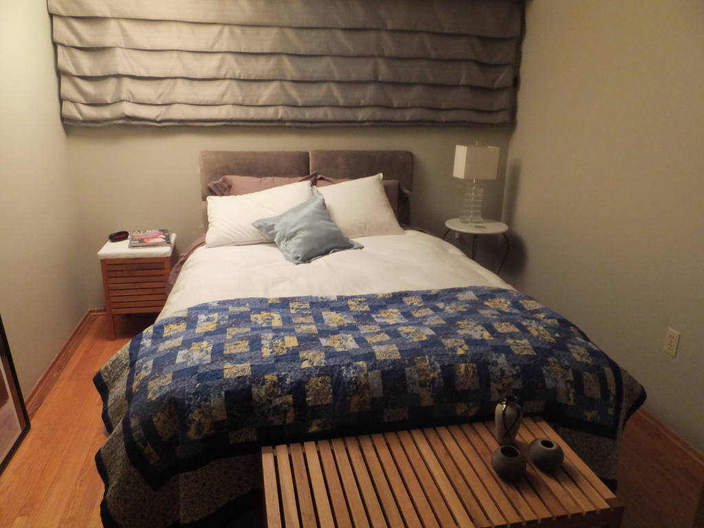 Second bedroom, with queen size bed