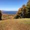 La montagne de Owl's Head (à l'automne, à 40 kms de Bromont)