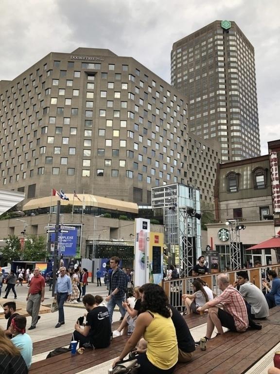 Montréal, quartier des spectacle, Francofolies