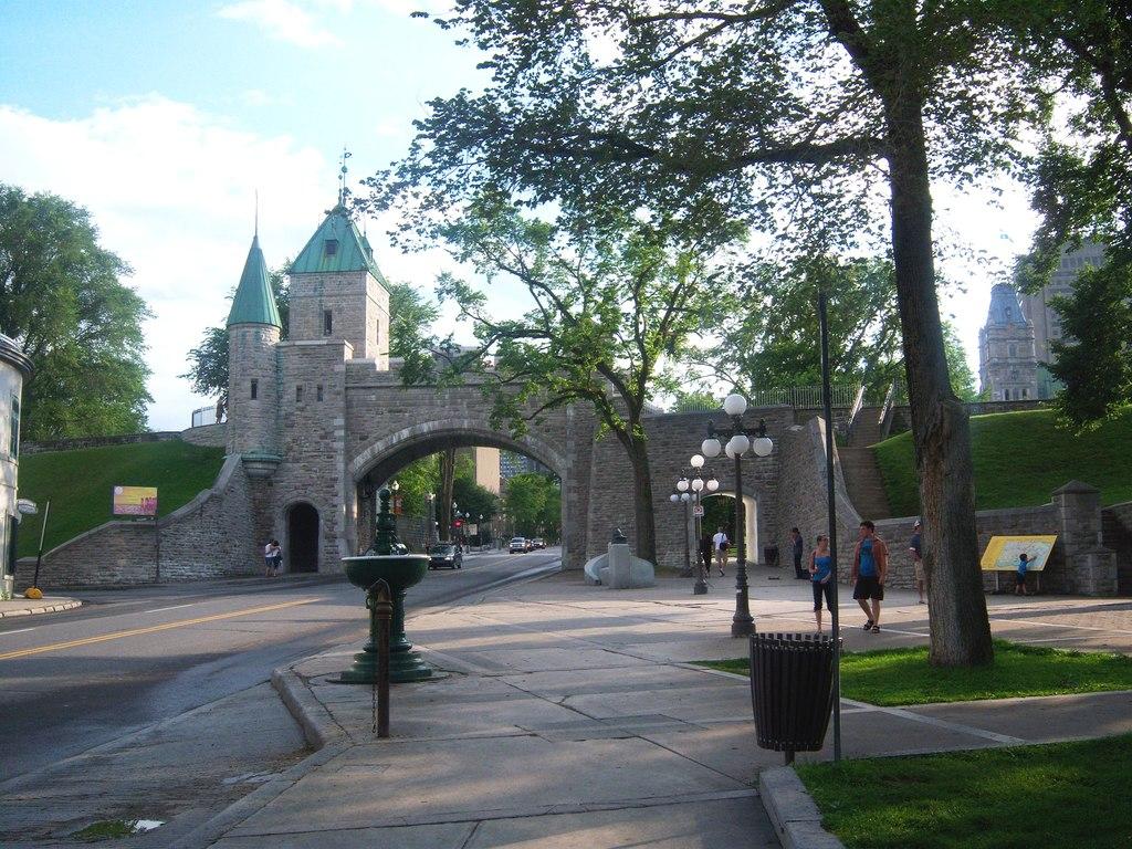 Ville de Québec, 2h50 min. de route de la maison