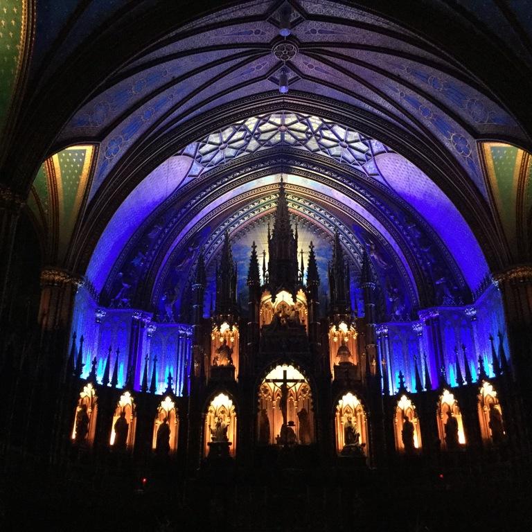 Église Notre-Dame, Vieux-Montréal