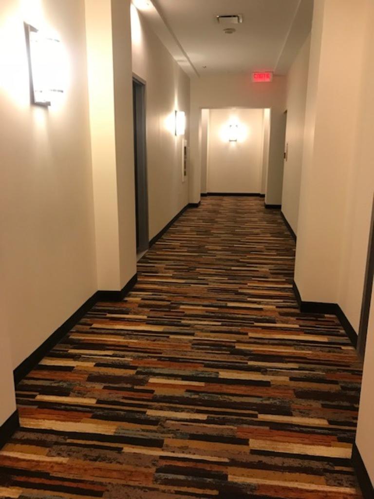 Corridor outside.