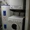 washer/dryer, hot water tank, in utility room (en suite)