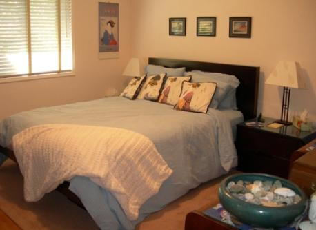 Master or Main Bedroom with Queen size bed