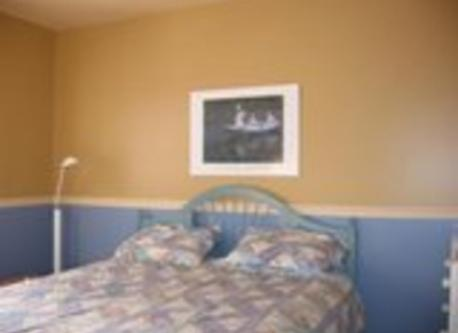 Guest bedroom/Ch.d'amis.Queen size.