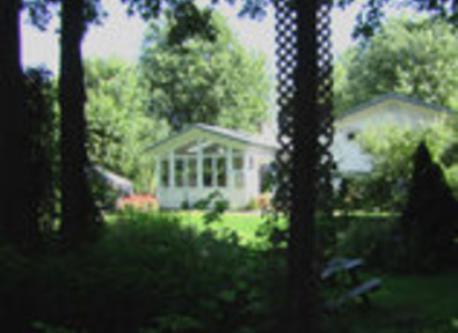 Backyard/cour arrière