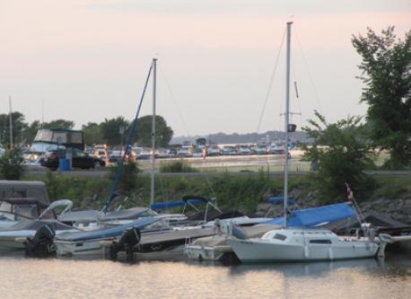 Marina de Lachine, près de la maison