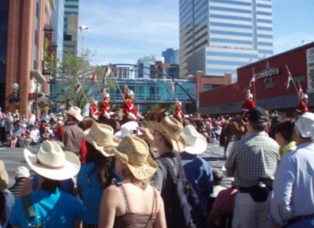 Stampede Parade every July