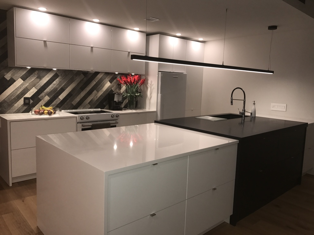 Great space to prepare meals