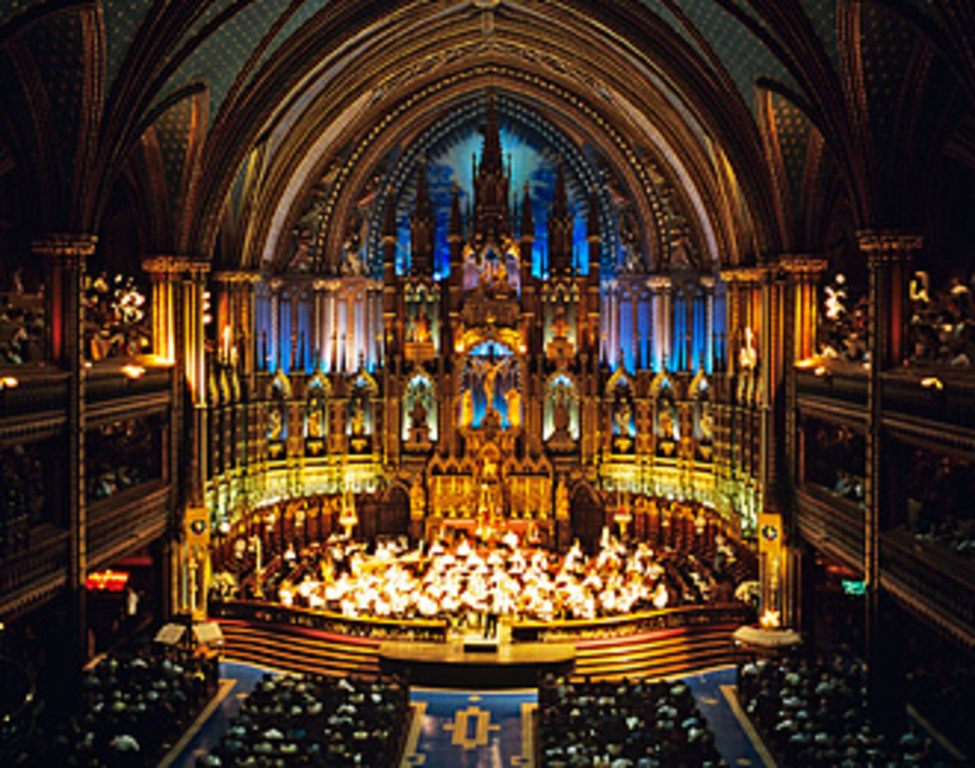 See the light show at Notre-Dame's Basilica