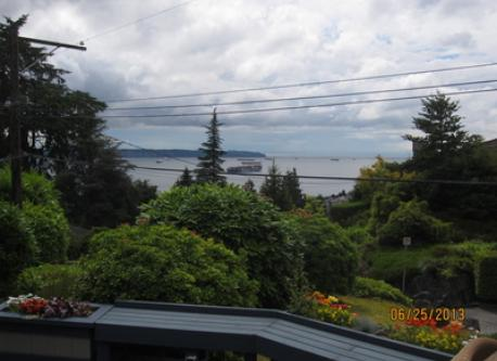 Daytime view from front deck