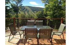 Notre balcon avec la vue sur Stoneham