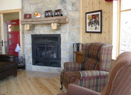 Le foyer au bois