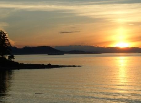 Gabriola sunset.