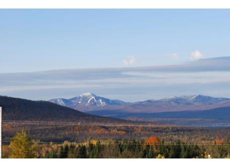Mont Jay Peak au Vermont (vu de chez nous)