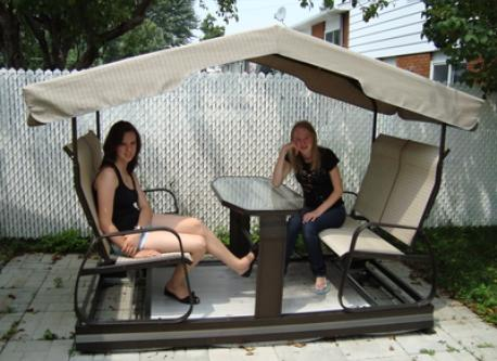 Backyard - swing