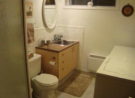 Bathroom basement
