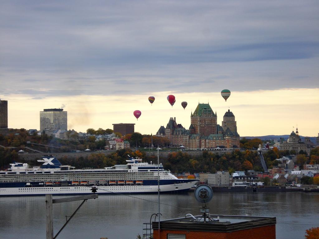 Vue splendide sur la ville de Québec