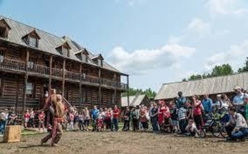 Fort Edmonton Park -historical buildings and attractions - just reopened after three years of upgrading!