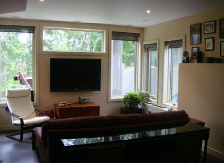 TV Room on lower level
