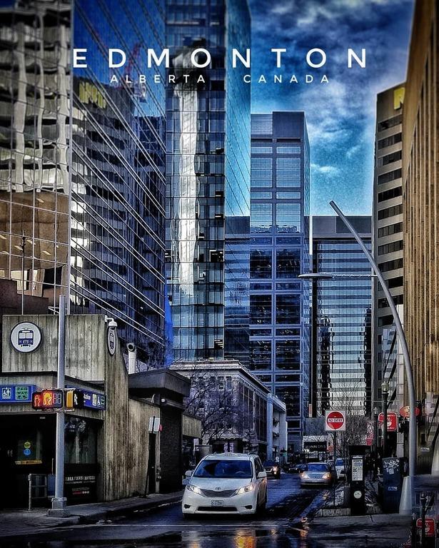 Downtown Edmonton (credit: Jody Mitoma)