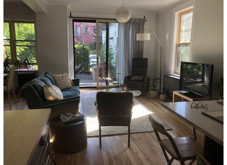 Espace à vivre (cuisine ouverte, salon, salle à manger)