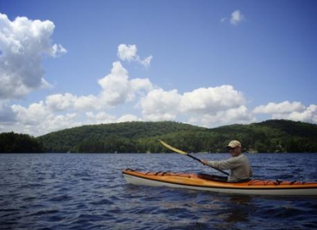 Kayaking on Lake of Bays