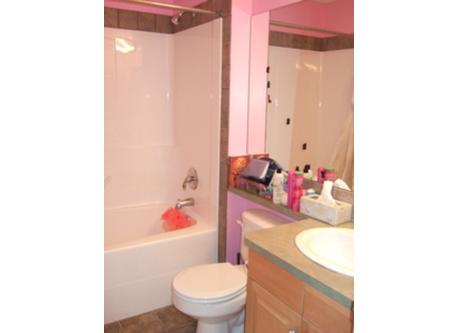 Each child's bedroom has an associated bathroom