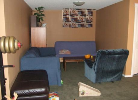 Downstairs nook