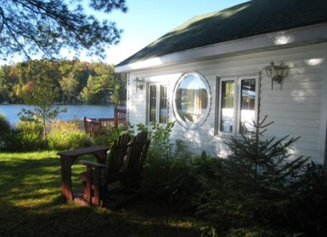 Our second home at Lac Vert, one hour drive north of Montréal