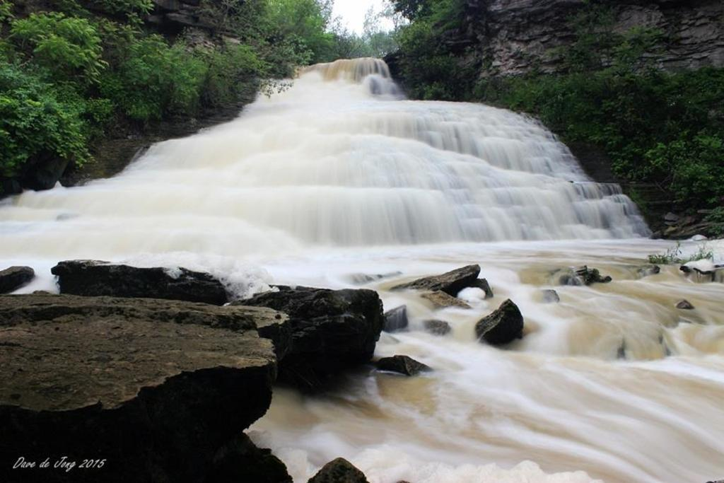 Many beautiful waterfalls on our Bruce Trail for hiking