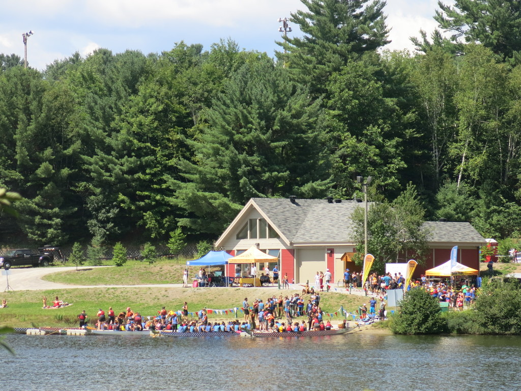 Rawdon beach where you can rent a canoe or kayak - Dragon boat races in August.