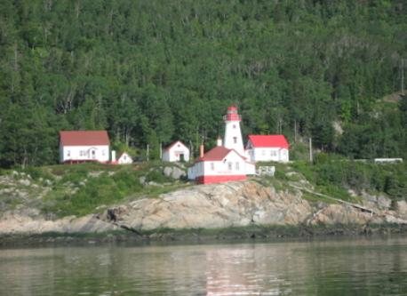 View from St Laurence river