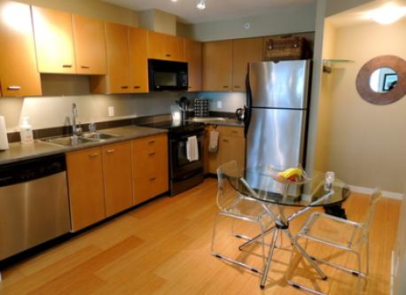 Spacious Kitchen Area is Fully Equipped