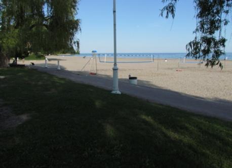Beach at Victoria Park
