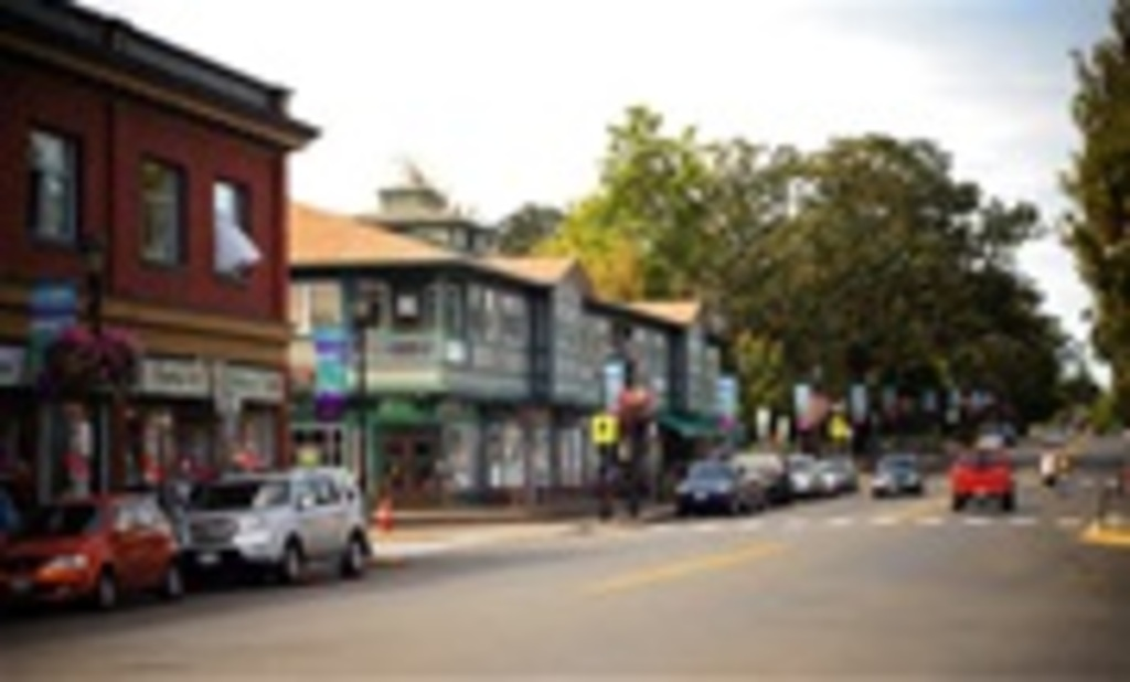 Oak Bay Village, our nearest shopping/ banking/ restaurants/ coffee shops, 10 minutes walk from home.