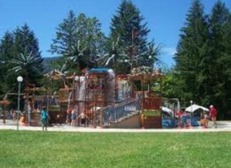 Cultus Lake Waterslides - fun for all ages