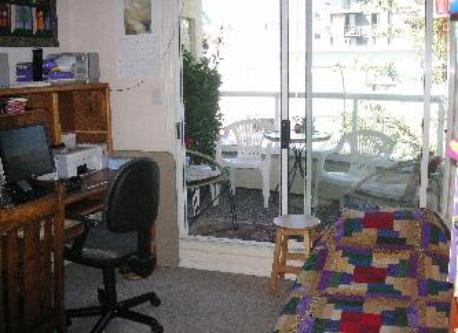 study and back balcony