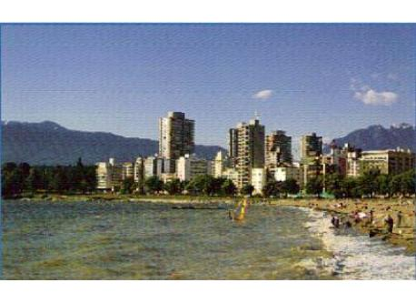 English Bay Beach. 7 minute walk from home