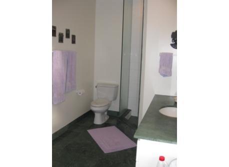 ensuite bathroom in main bedroom / toilette, douche dans la salle de bain principale