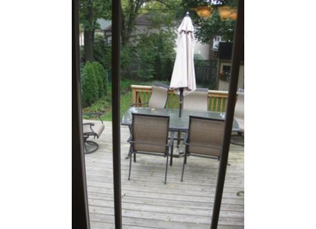 back deck / terrasse et jardin