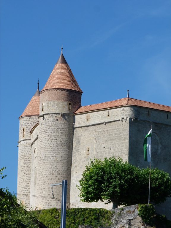 Grandson's castle. le chateau de Grandson