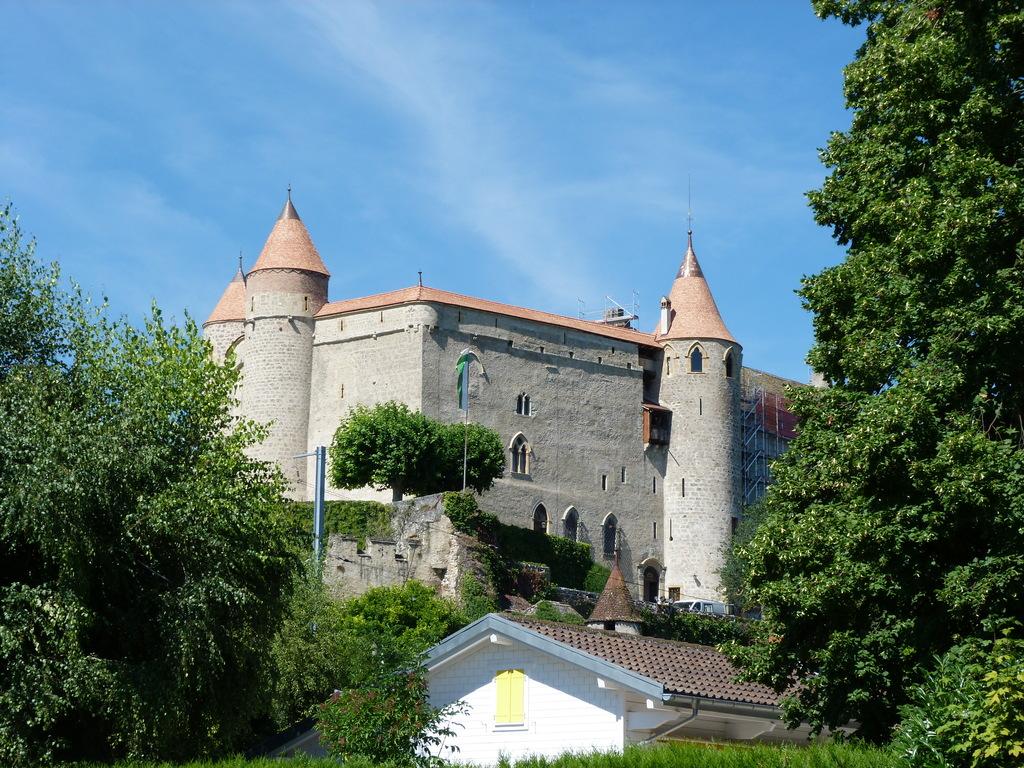 Grandson's castle