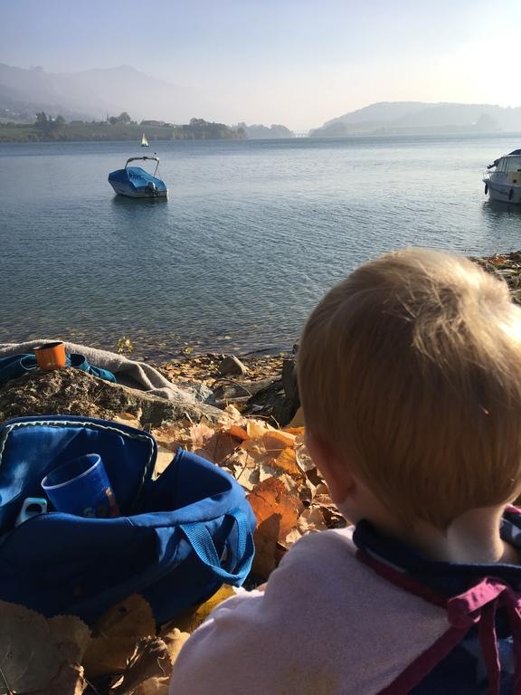 Au bord du Lac de la Gruyère, à 15 minutes