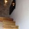 stairs to parents'mezzanine