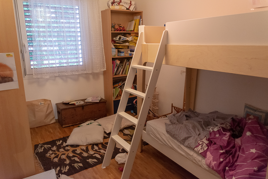 the children's bedroom