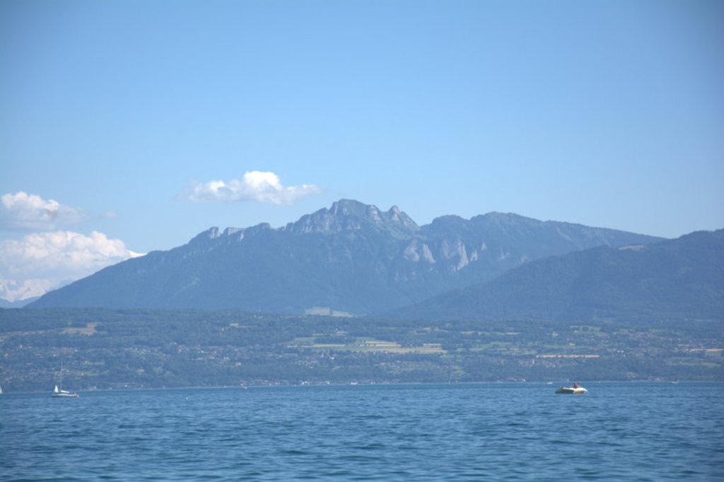 The lake: beautiful!