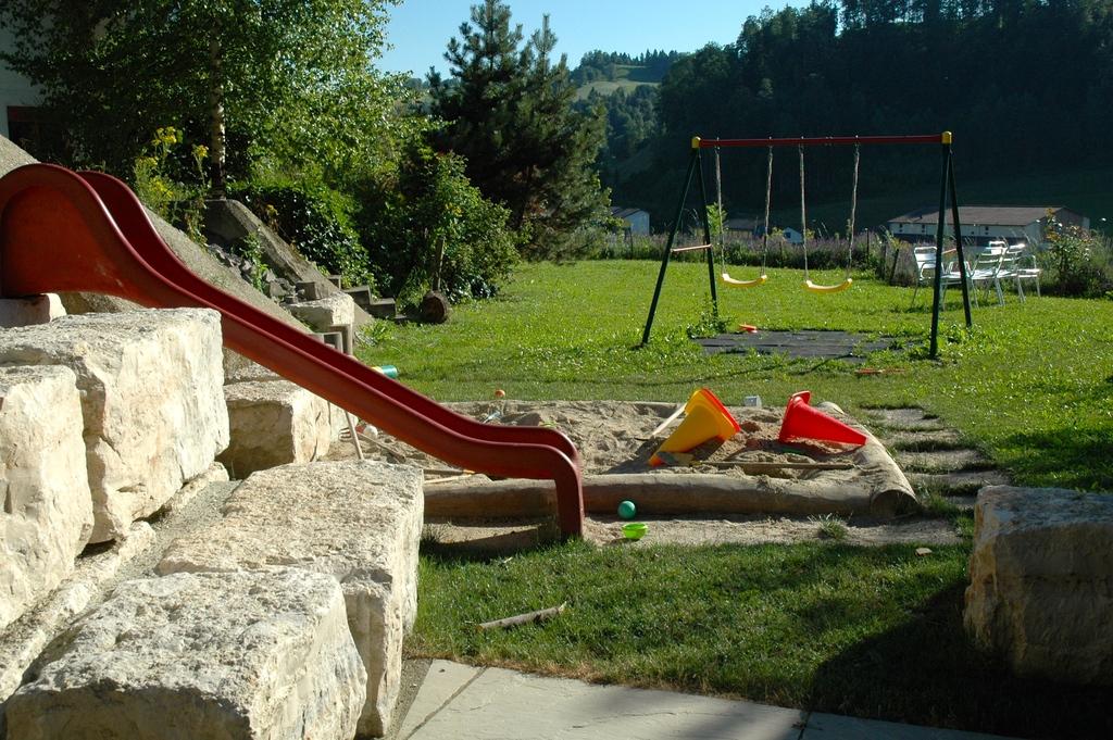 Playground in our garden.